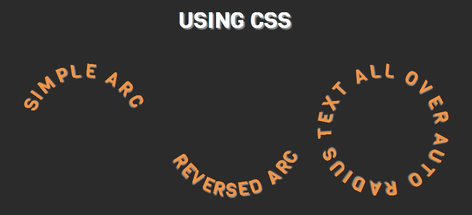 How to Bend and Set Text on a Circle With CSS - 1stWebDesigner