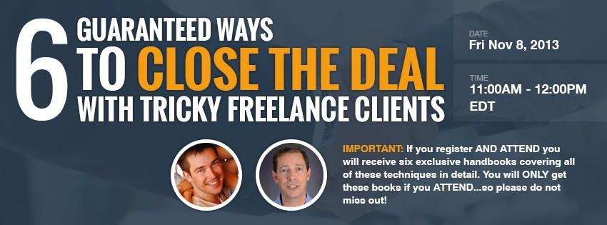 freelance webinars