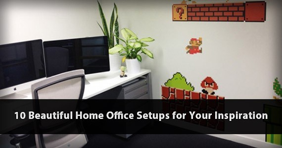 Looking for Beautiful Home Office Setups? Check out 10 Samples Here!