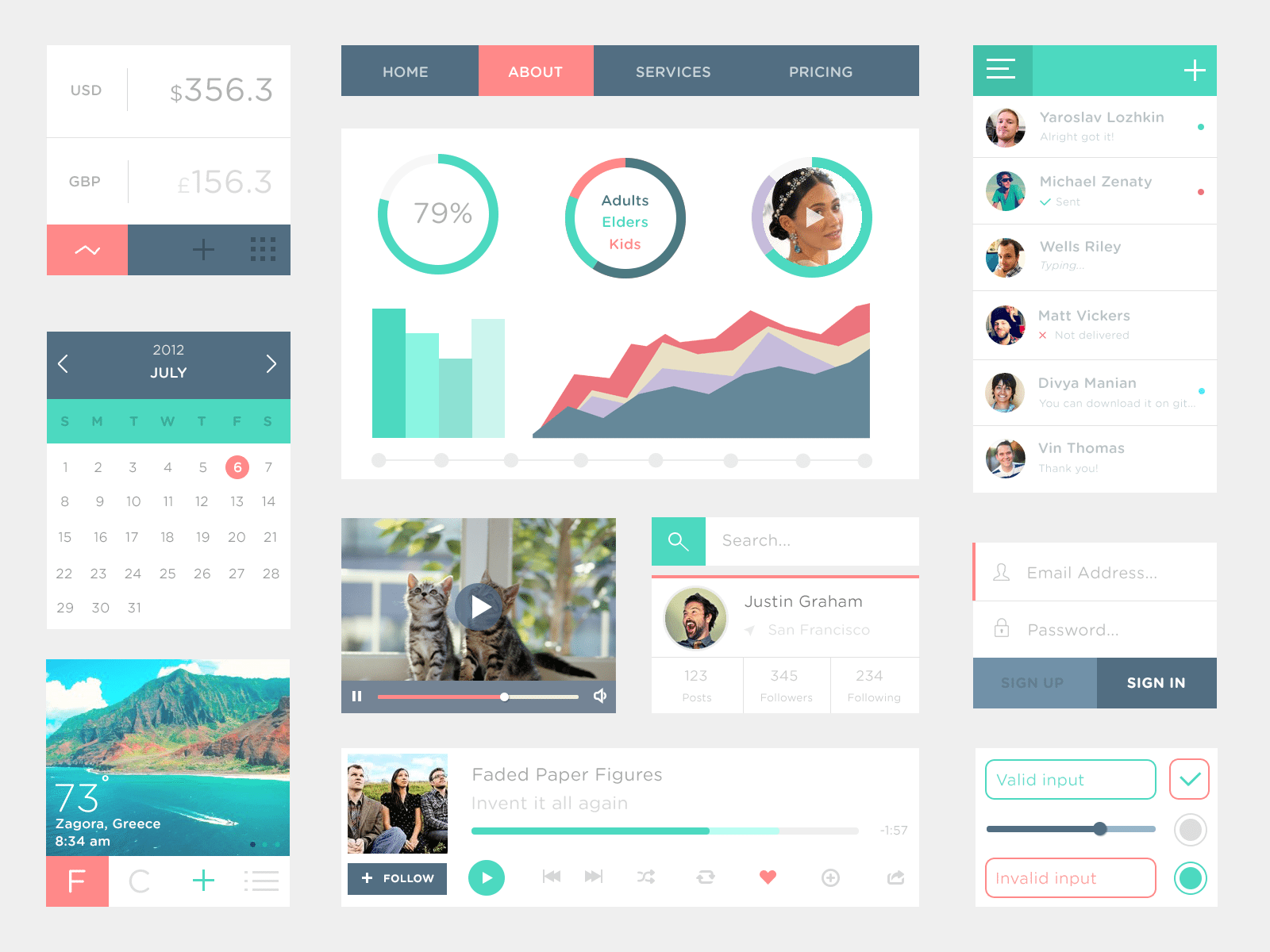 web ui kits