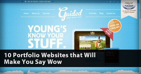 10 Portfolio Websites that Will Make You Say Wow