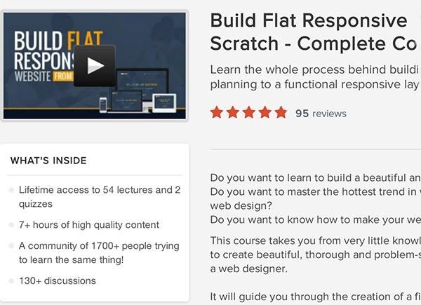 Flat design course noktirne