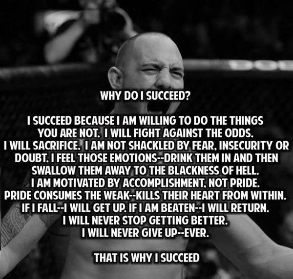 Why do i succeed