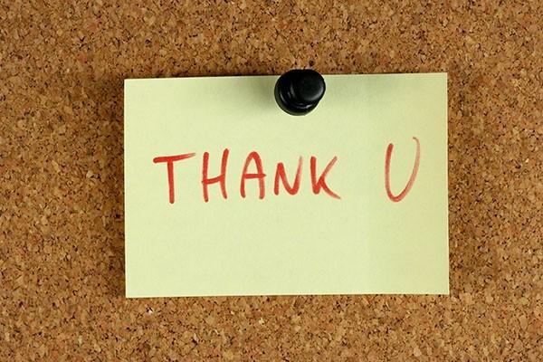 Office help - gratitude