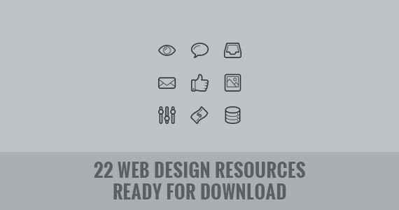 22 Web Design Resources Ready for Download