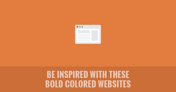Be Inspired with These Bold Colored Websites