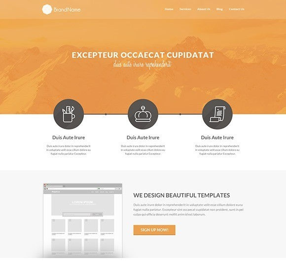 the 50 best free responsive web templates 1stwebdesigner