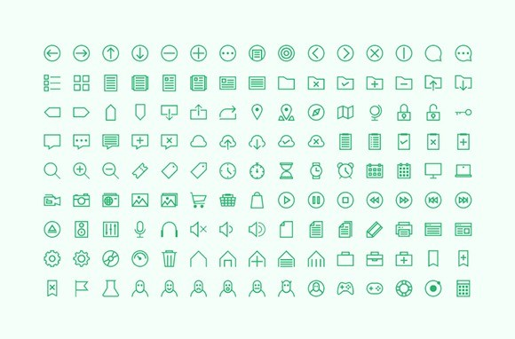 Free Hard One Icon Set