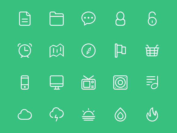 Icons by Catalin Fertu