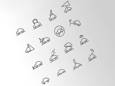 Icons for the Weather Situations