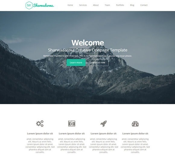 The 50 Best Free Responsive Web Templates - 1stWebDesigner