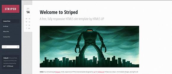 Striped