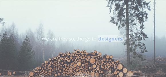 free responive web template html css Treviso