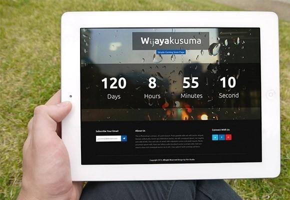 free responive web template html css Wijayakusuma