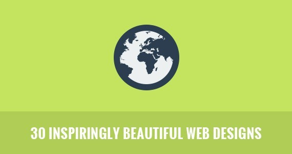 30 Inspiringly Beautiful Web Designs