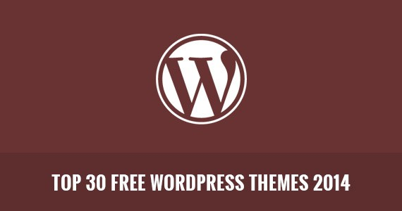 Top 30 Free WordPress Themes 2014