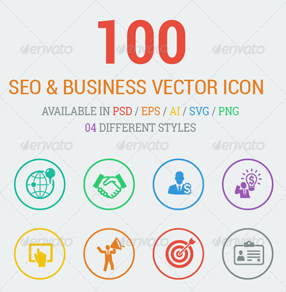 SEO & Business Vector