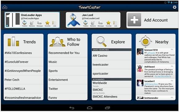 TweerCaster