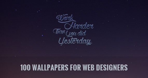 Design with Class: A Hundred Wallpapers for Web Designers