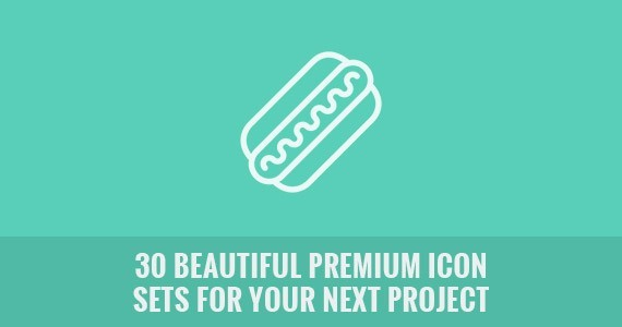 30 Beautiful Premium Icon Sets for Your Next Project