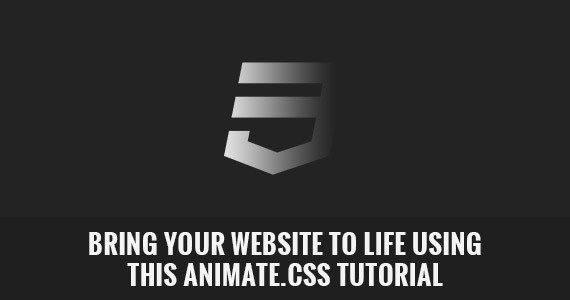 Bring Your Website to Life Using This Animate.css Tutorial