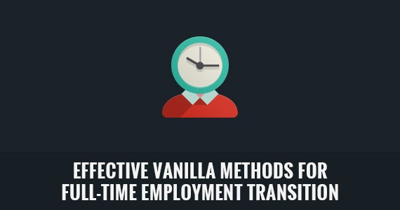 Effective Vanilla Methods for Full-Time Employment Transition