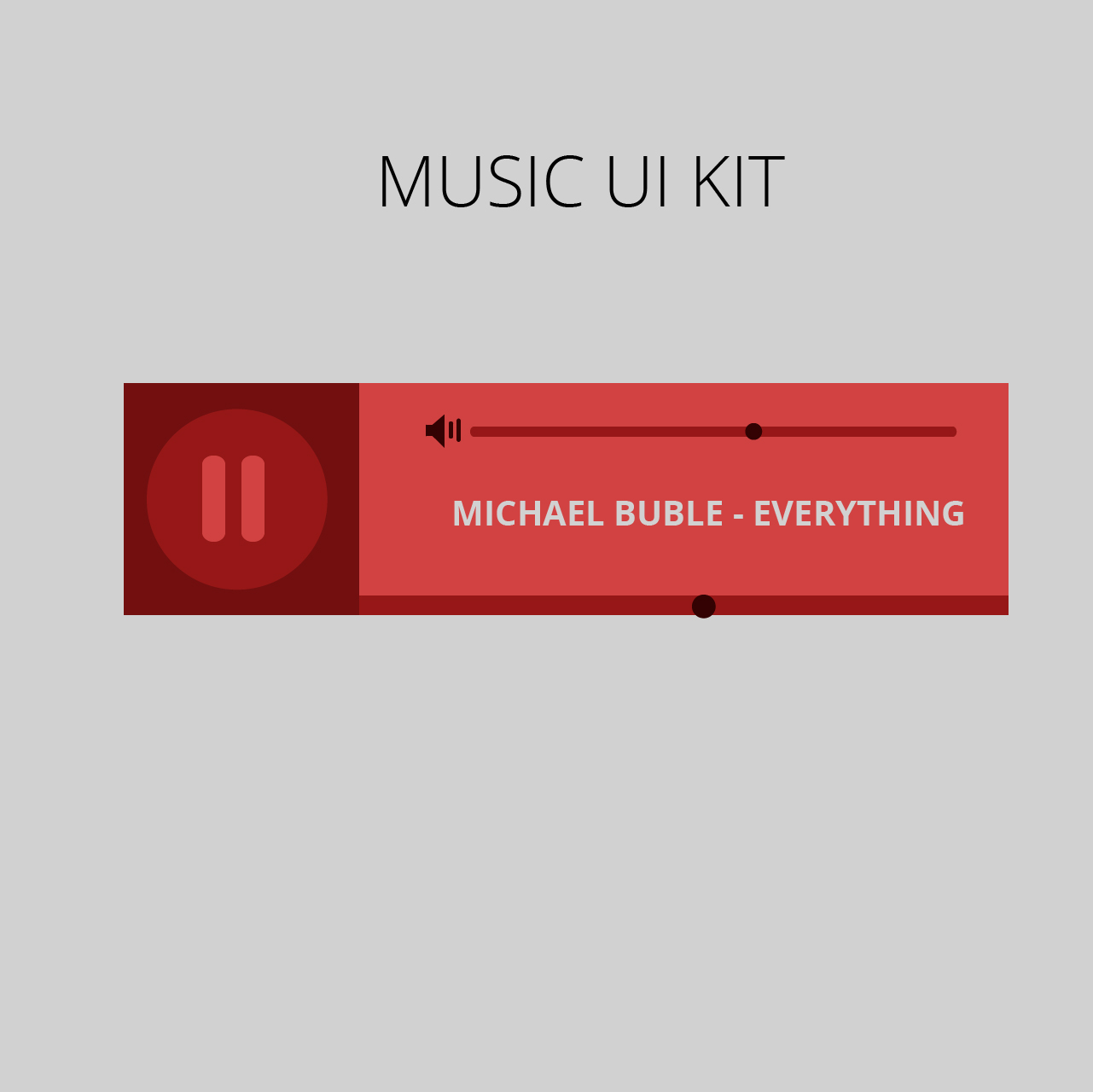 how to create a music website using html