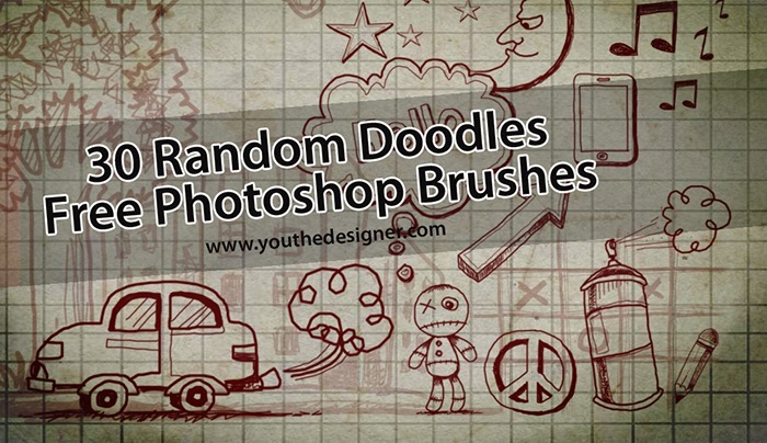 Random Doodles Brushes