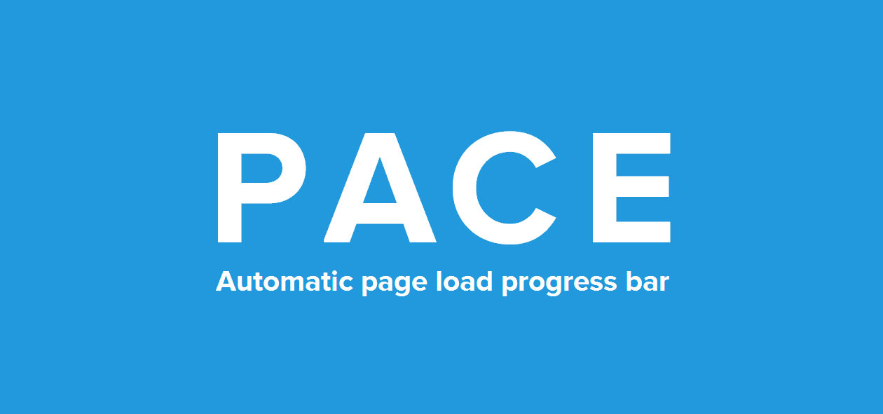 Create Your Own Page Load Progress Bar with Pace js - MobilyPress