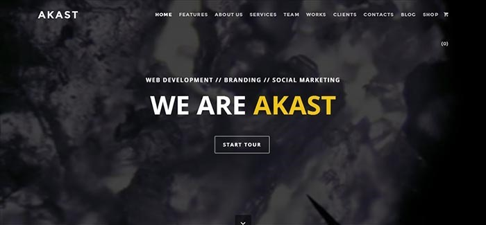Akast
