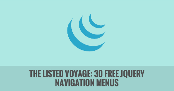 The Listed Voyage:  30 Free jQuery Navigation Menus