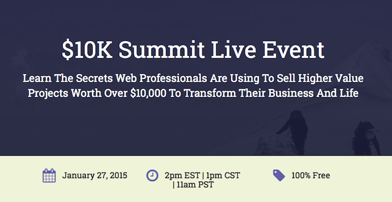 Free $10K Summit Live Event