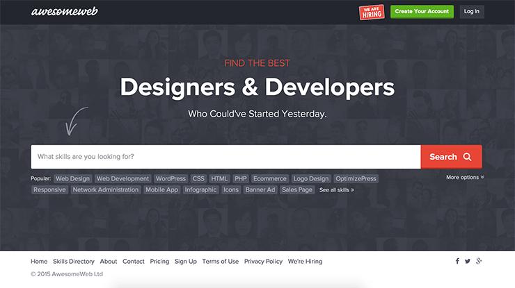 AwesomeWeb Professional Designer Marketplace
