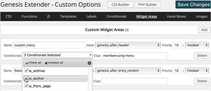 genesis-extender-plugin-php-builder-custom-options