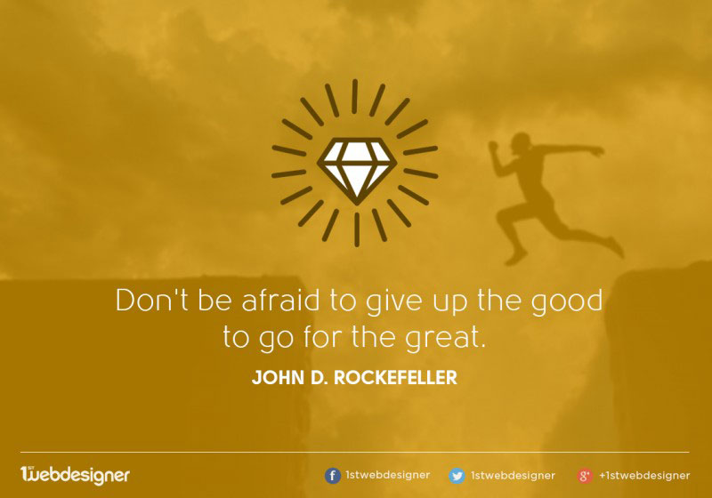rockefeller positive quotes for the day