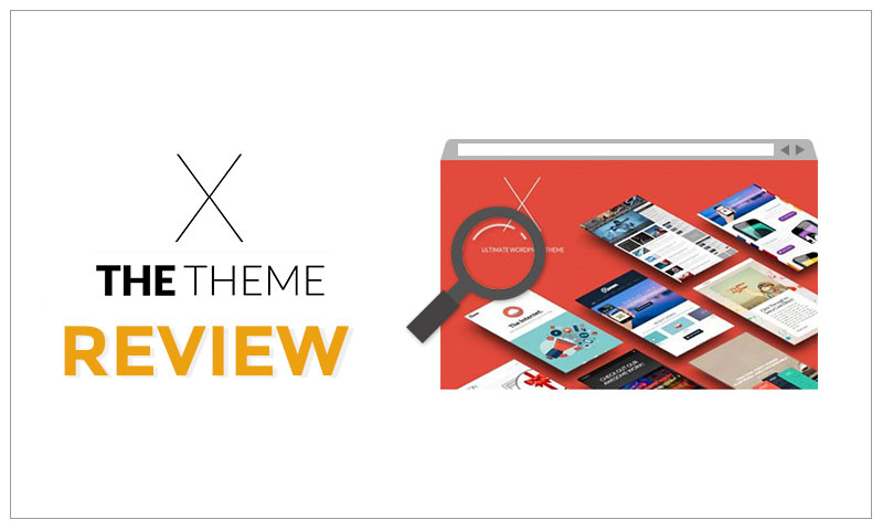 x theme review header