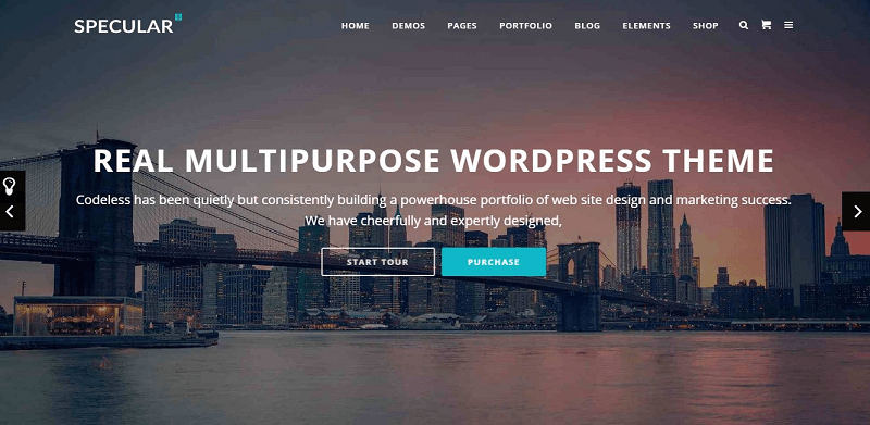 Specular Responsive Multi-Purpose Business Theme