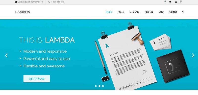 50 Responsive HTML & CSS Web Templates for 2018 - 1stWebDesigner