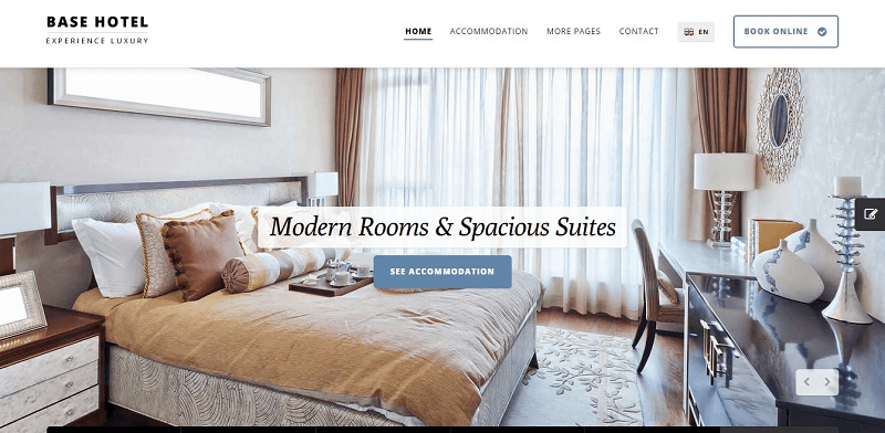 2015 03 26 40 Base Hotel Experience Luxury HTML Website Template