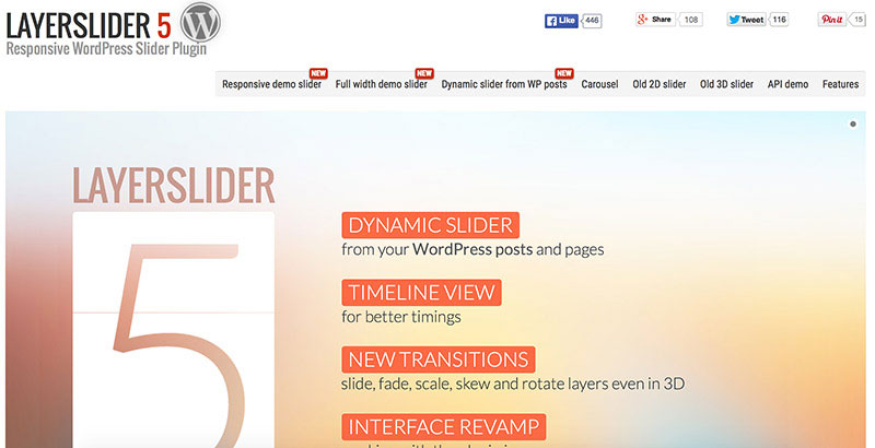 LayerSlider 5 WordPress Plugin