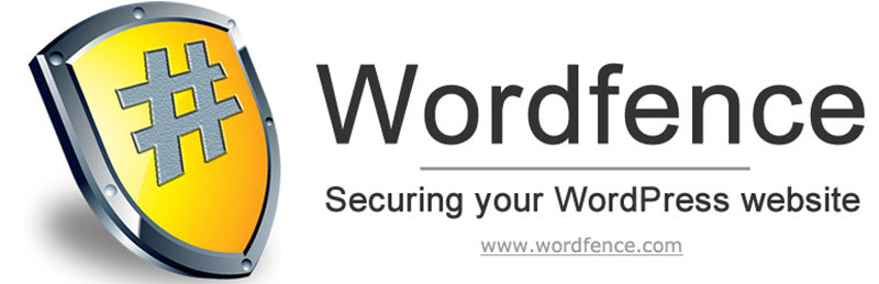 Wordfence security and performance WordPress plugin.