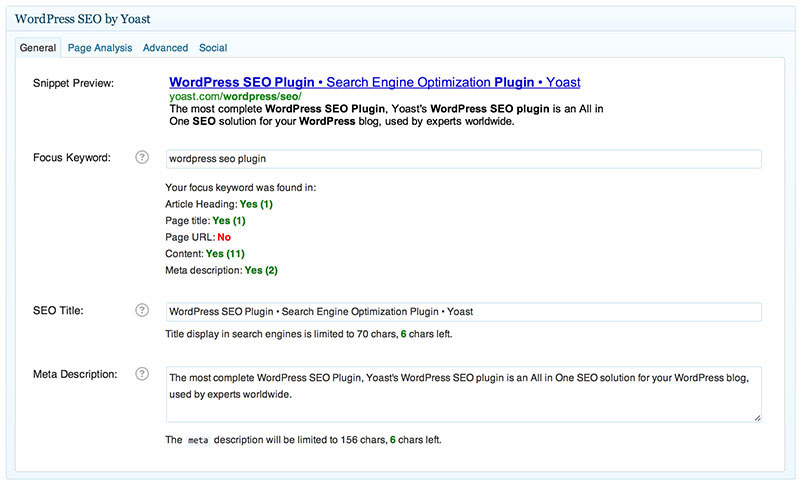 1WD is using this plugin every day to optimize our posts and website for SEO.