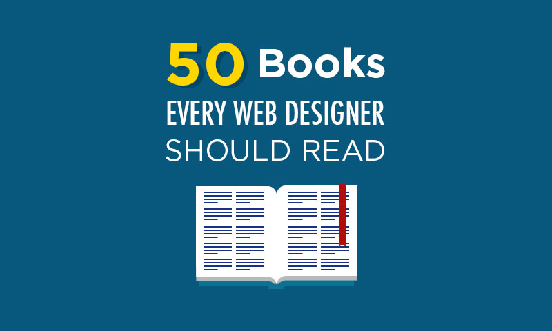 50 best web design books