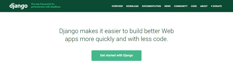 FireShot Screen Capture #031 - 'The Web framework for perfectionists with deadlines I Django' - www_djangoproject_com
