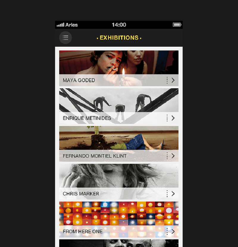 Art Ideas App: 10 Mobile App Designs For User Experience Inspiration