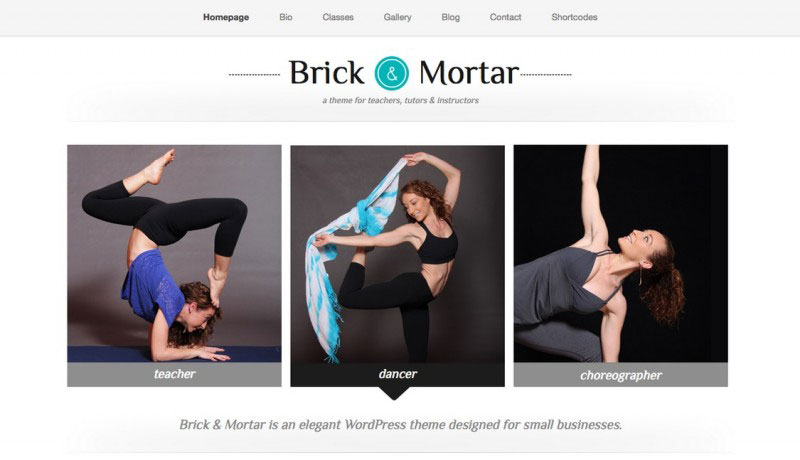 Brick & Mortar - A Personal Business Theme