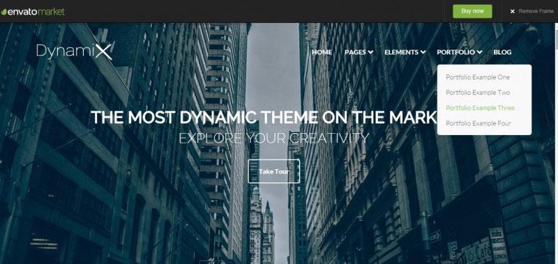 Dynamix – Business / Corporate WordPress Theme
