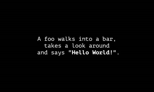 joke-foo-hello-world