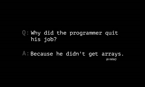 joke-job-arrays
