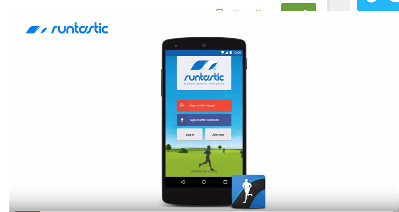 Runtastic is a fitness app that uses Material Design